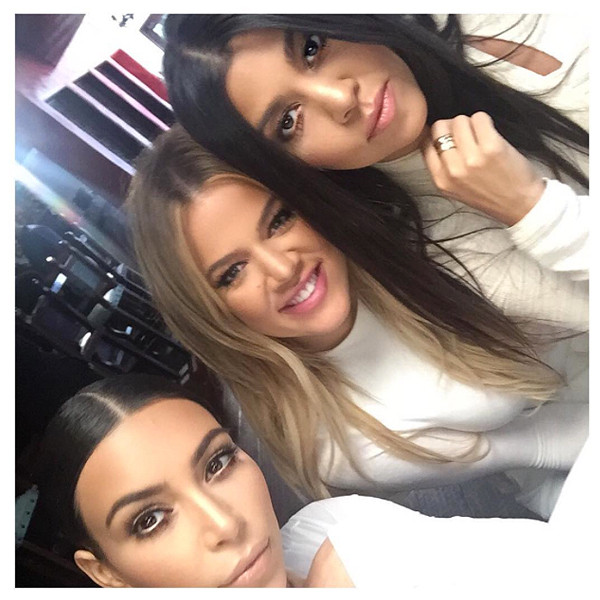 Kim Kardashian, Kourtney Kardashian, Khloe Kardashian, Instagram