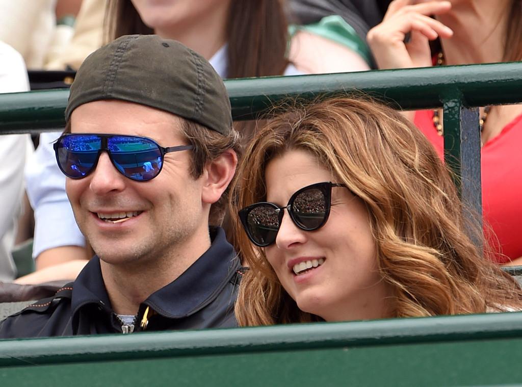 Bradley Cooper, Mirka Federer, Celebs at Wimbledon