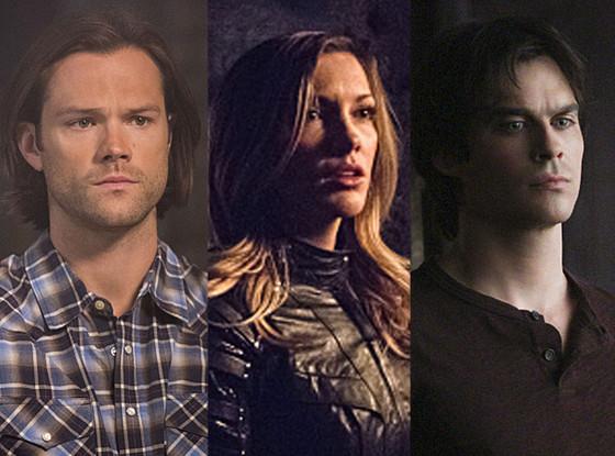 Jared Padalecki, Supernatural, Katie Cassidy, Arrow, Ian Somerhalder, Vampire Diaries