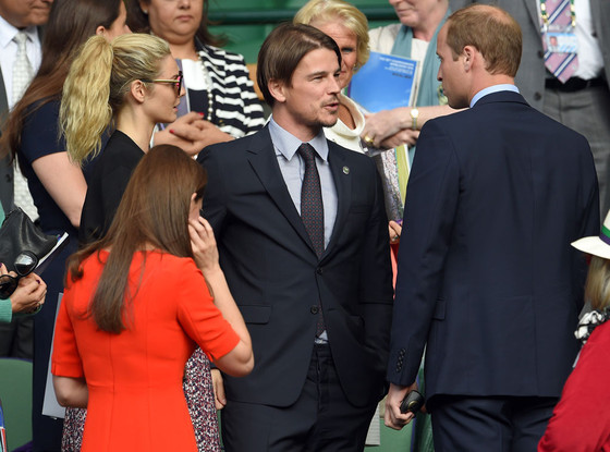 Tamsin Egerton, Josh Hartnett, Prince William, Duchess Kate Middleton