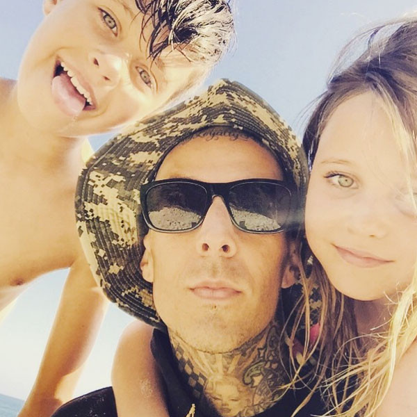 Travis Barker, Kids, Instagram