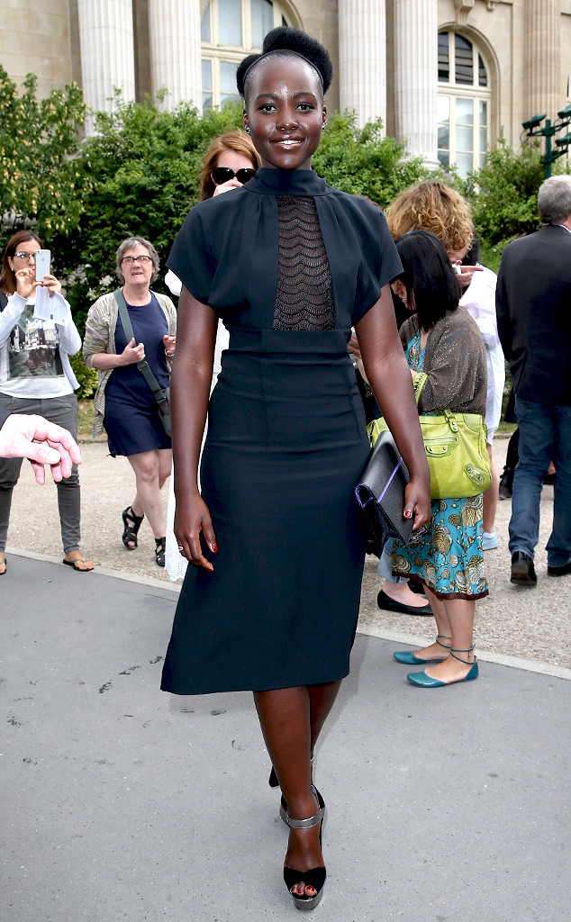 Lupita Nyongo, Paris Fashion Haute Couture