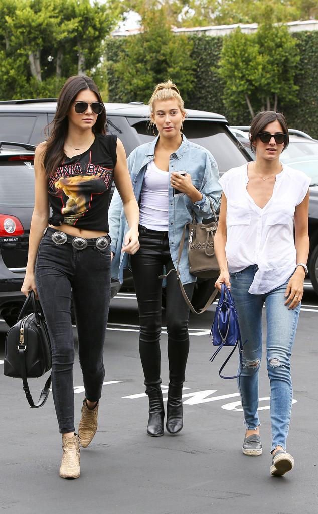 Hailey Baldwin, Kendall Jenner