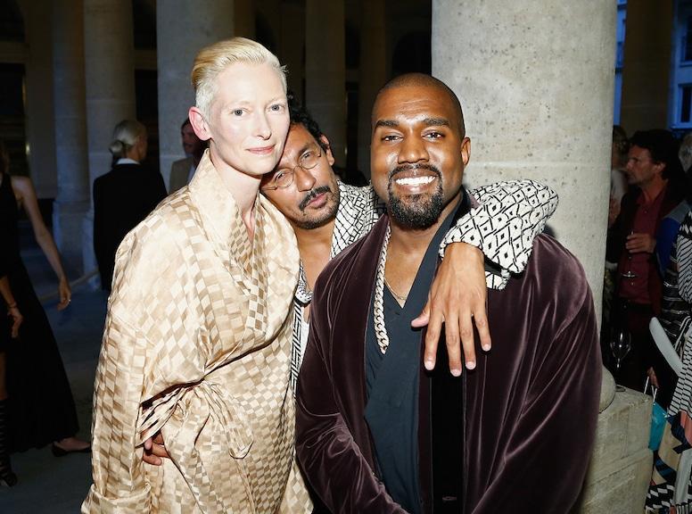 Tilda Swinton, Haider Ackermann, Kanye West