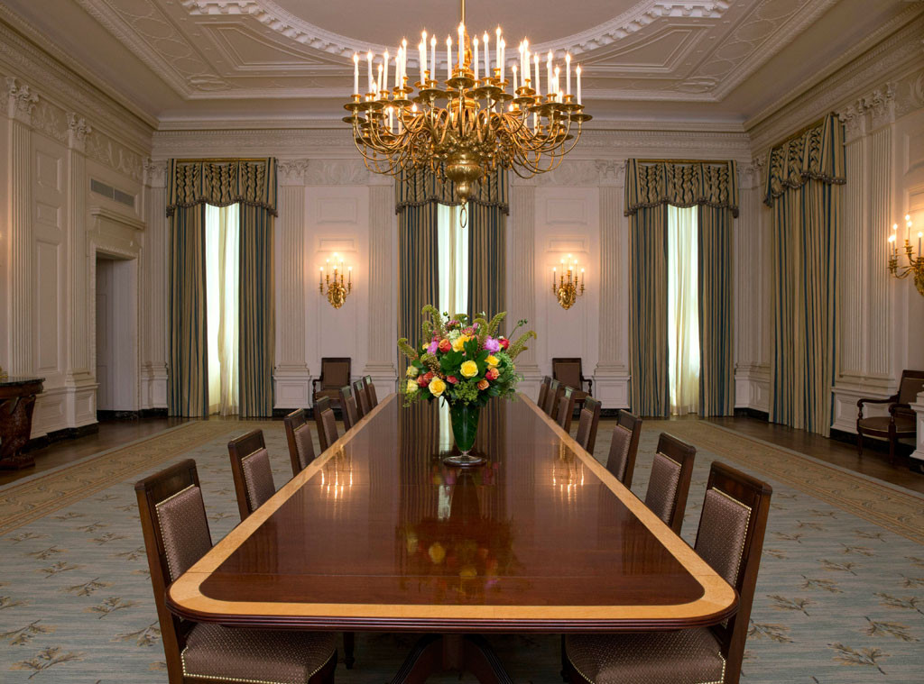 Michelle Obama Family Dining Room