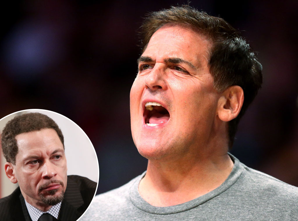 Mark Cuban, Chris Broussard