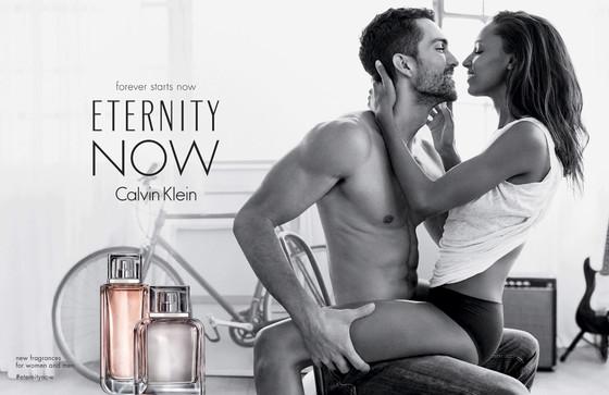 Jasmine Tookes, Tobias Sorensen, Calvin Klein, Eternity