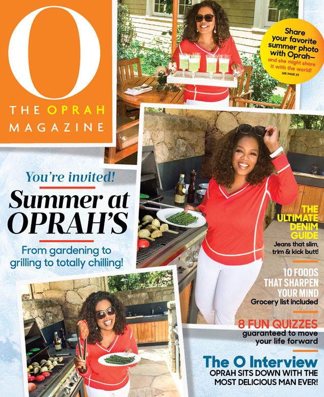 O Magazine, Oprah Winfrey