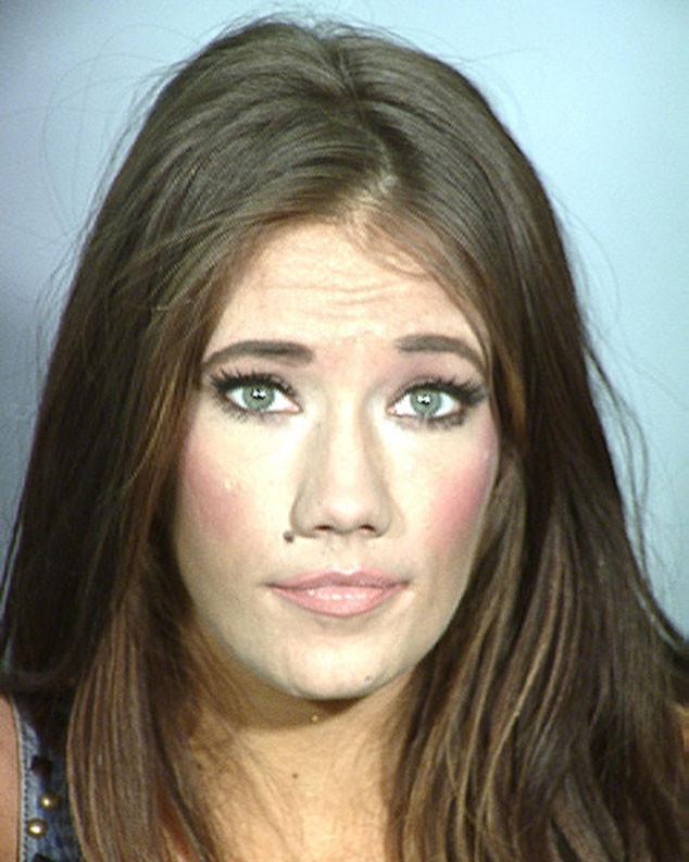 Katherine Rees, Former Miss Nevada USA, Mug Shot