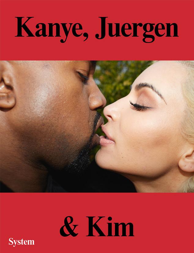 Kim Kardashian, Kanye West, System Magazine