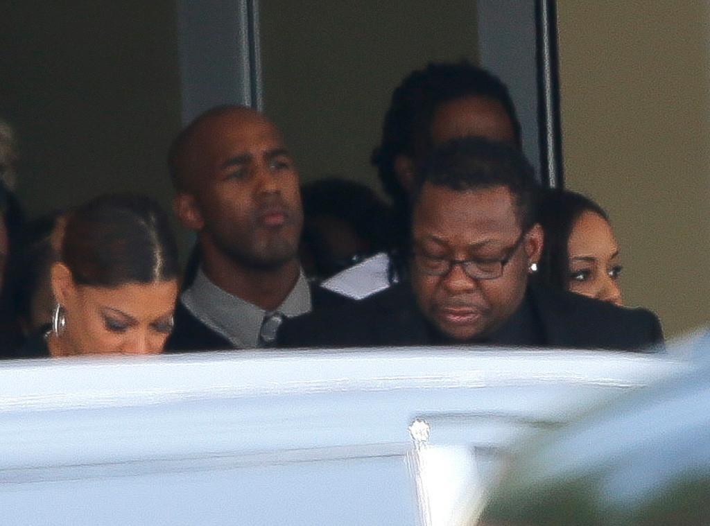 Bobby Brown, Bobbi Kristina Brown Funeral