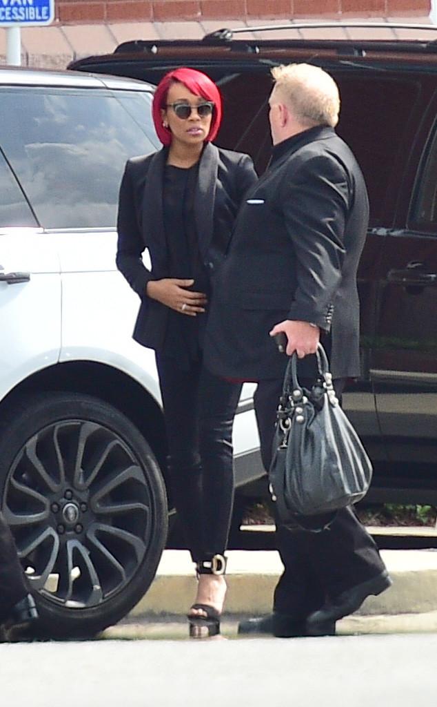 Monica, Bobbi Kristina Brown Funeral