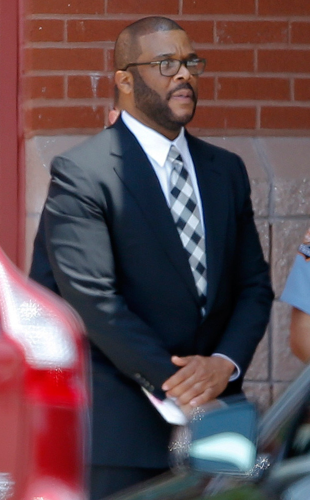 Tyler Perry, Bobbi Kristina Brown Funeral