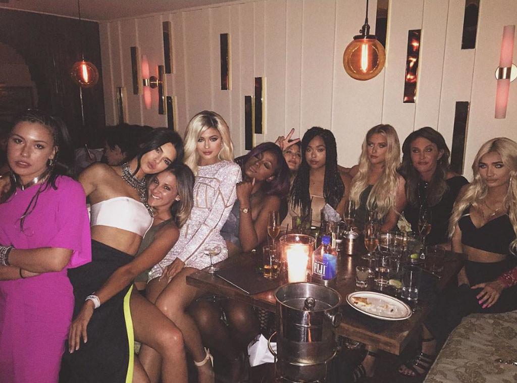 Kylie Jenner, Birthday, Instagram, Caitlyn Jenner