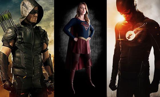 Supergirl, Arrow, The Flash