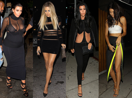 Kim Kardashian, Khloe Kardashian, Kourtney Kardashian, Kendall Jenner