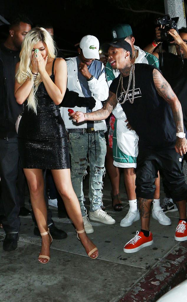 Kylie Jenner, Tyga, Birthday