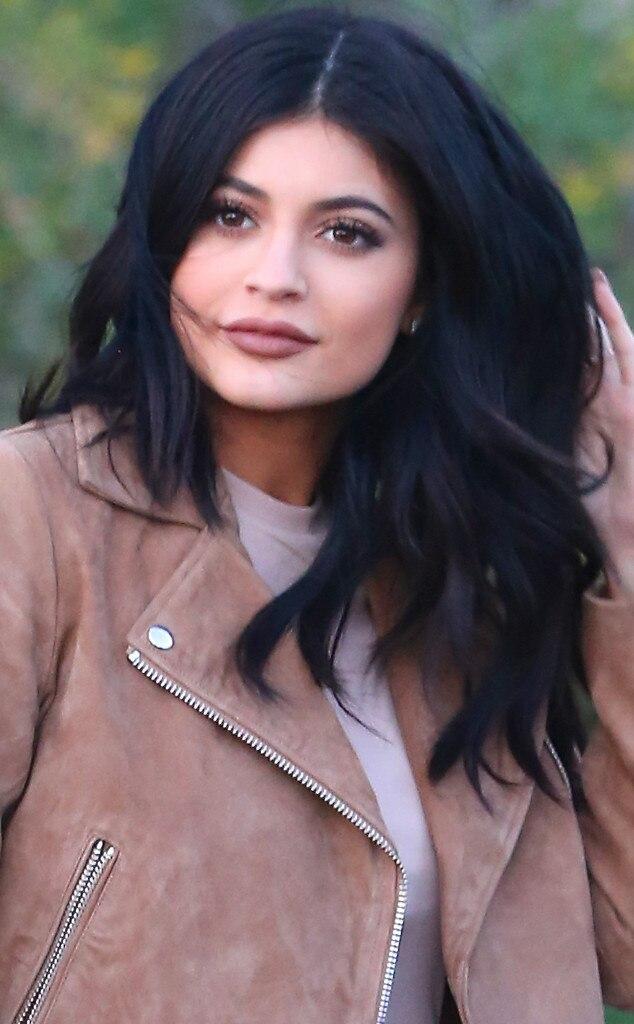 Kylie Jenner Black Hair