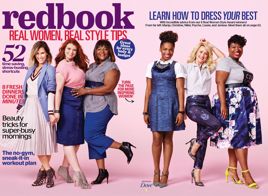 Redbook, Six Real Women