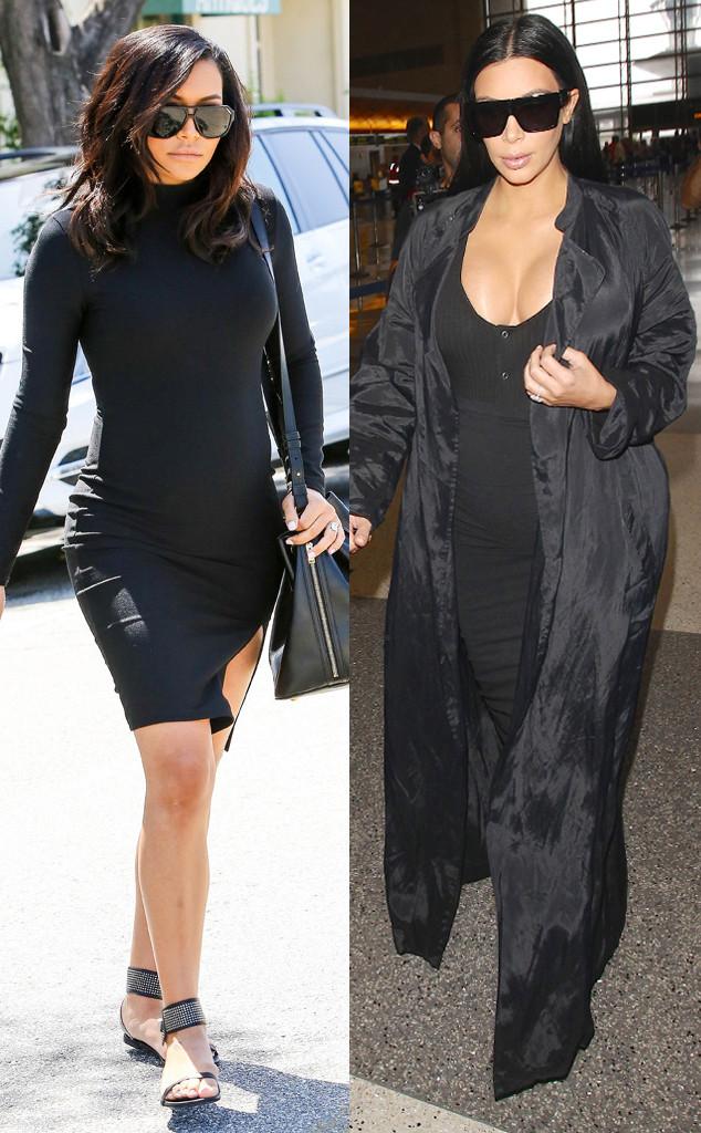 Naya Rivera, Kim Kardashian