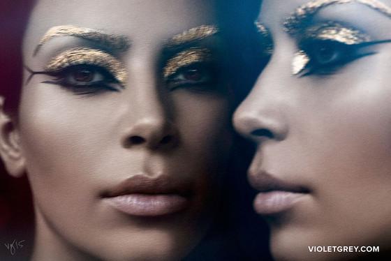 Kim Kardashian, Violet Grey