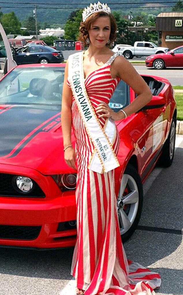 Brandy Weaver-Gates -  The former  Miss Pennsylvania U.S. International was arrested for faking her cancer diagnosis.