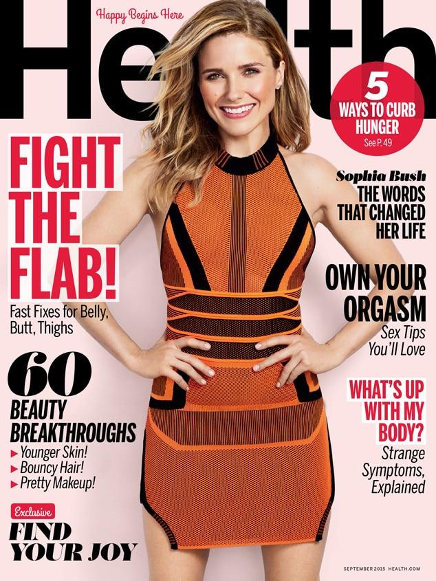 Sophia Bush, Health Magazine