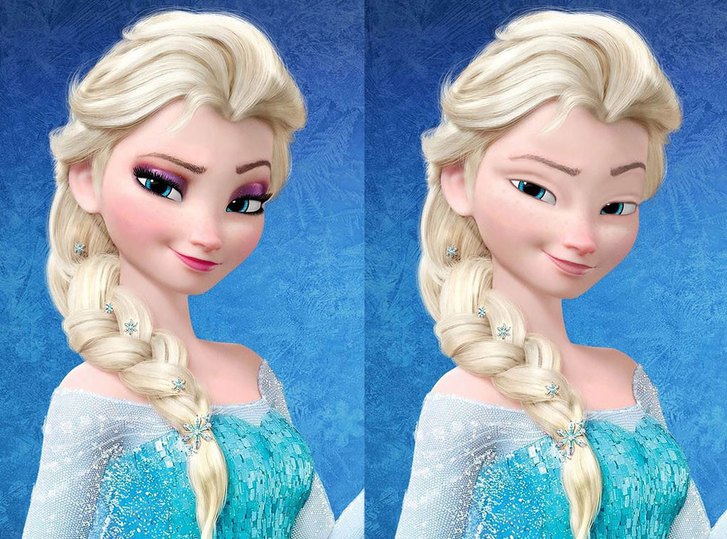 Frozen S Elsa Is Fresh Faced And Fabulous See Disney S Iconic