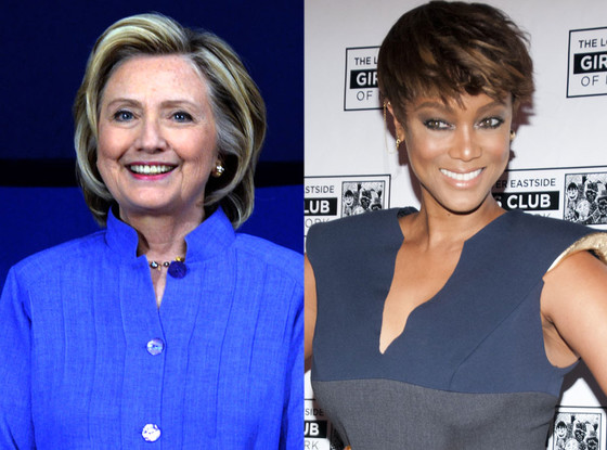 Hillary Clinton, Tyra Banks