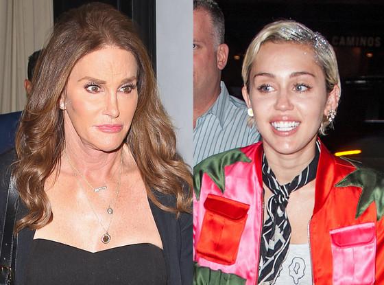 Caitlyn Jenner, Miley Cyrus