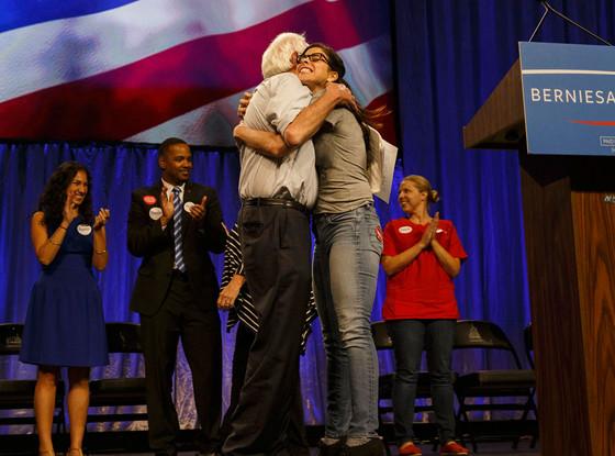 Bernie Sanders, Sarah Silverman