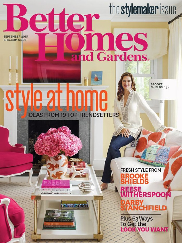 Better Homes And Gardens, Brooke Shields