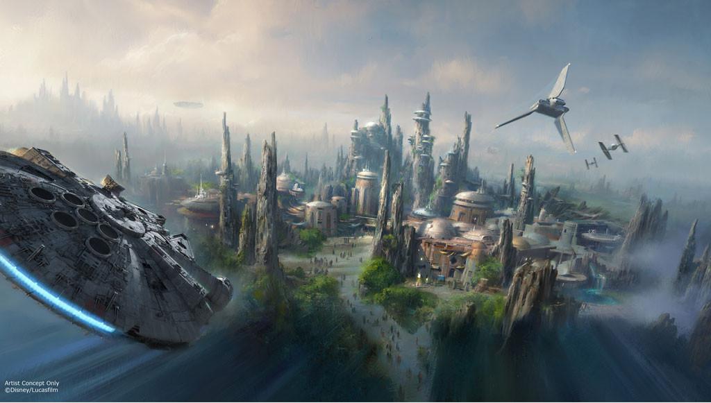 Star Wars Theme Disney Park