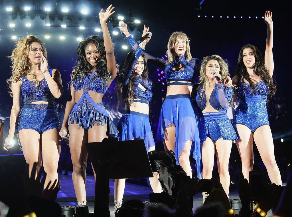 Taylor swift joins fifth harmonyonstage at her concertsee pics taylor swift concert fifth harmony m4hsunfo