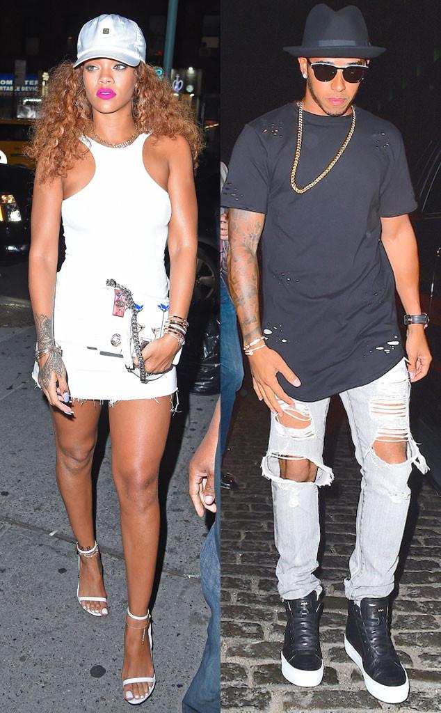 Lewis Hamilton, Rihanna
