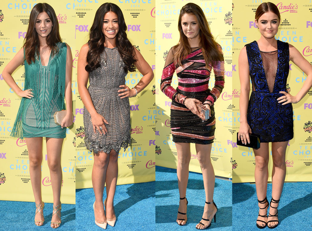 As famosas mais bem e mal vestidas do Teen Choice Awards 2015