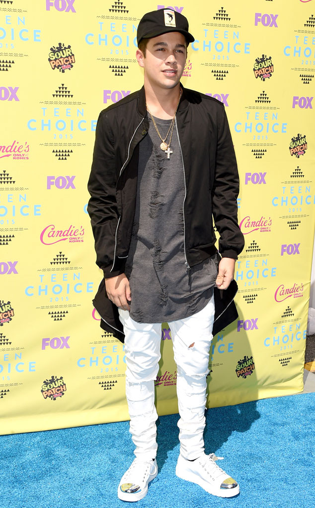 Austin Mahone, 2015 Teen Choice Awards
