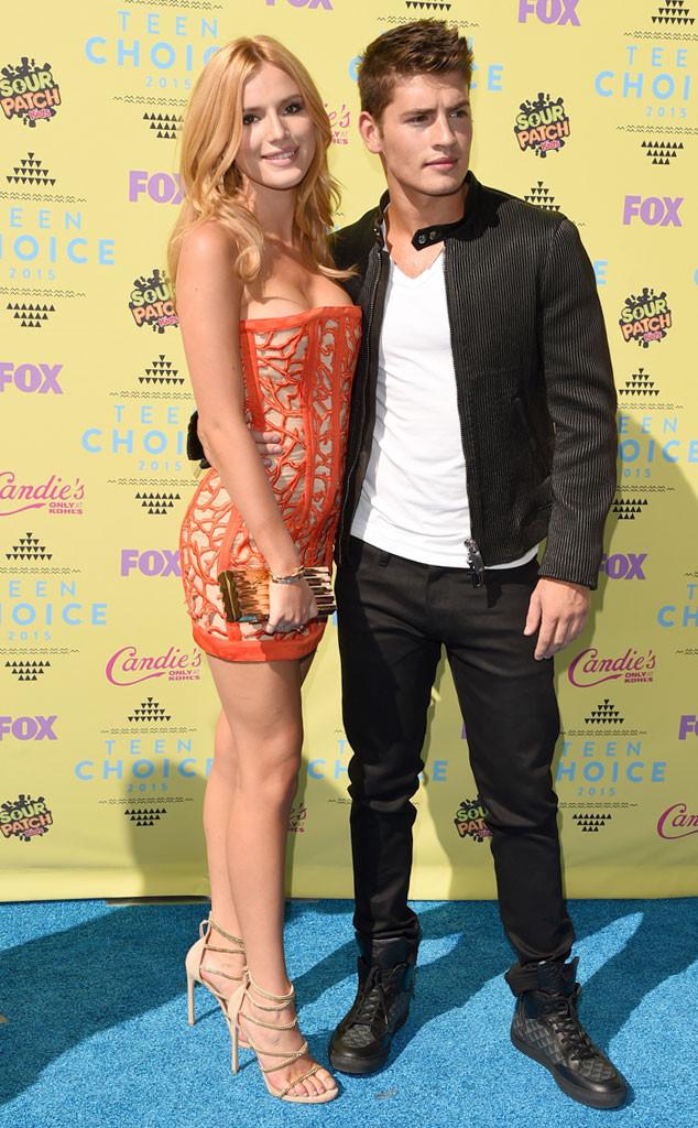 Bella Thorne, 2015 Teen Choice Awards, Gregg Sulkin