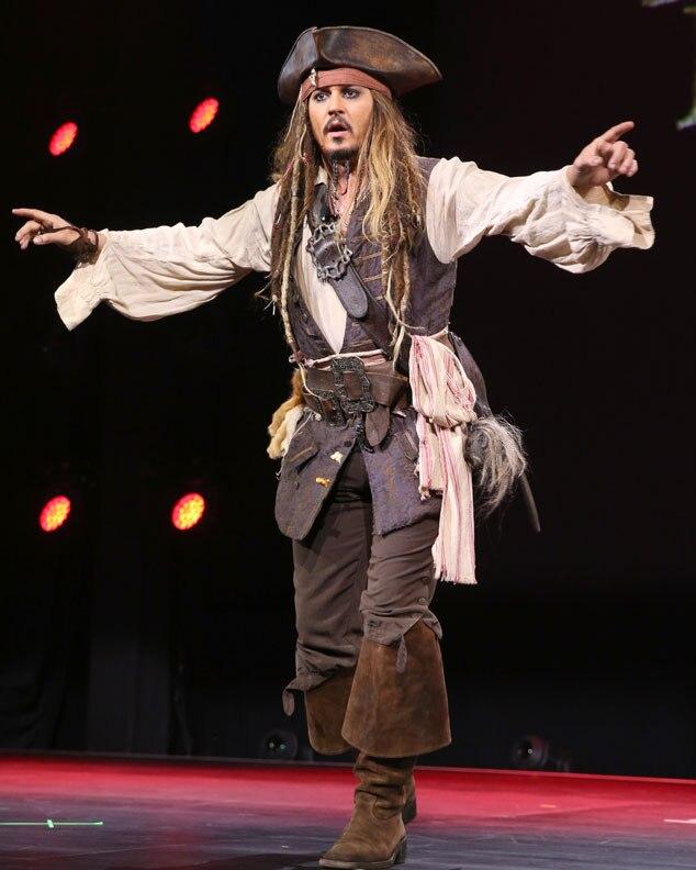 Johnny Depp, D23 Expo