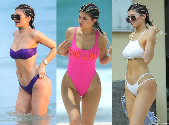 2fb3abd04c Every Bikini Kendall & Kylie Jenner Wore on Their Mexican Beach  Vacation—Look!