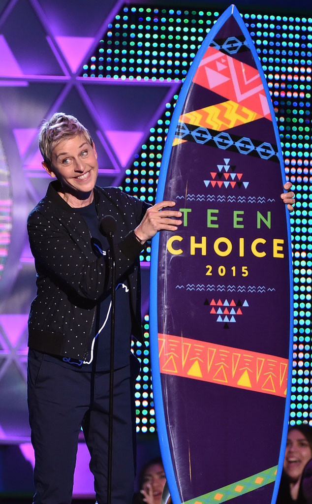 Ellen DeGeneres, Teen Choice Awards
