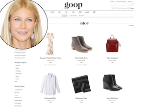 Gwyneth Paltrow, Goop, Lifestyle Sites
