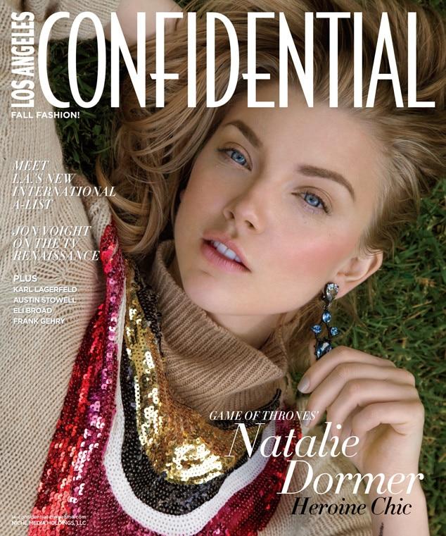 Natalie Dormer, Los Angeles Confidential