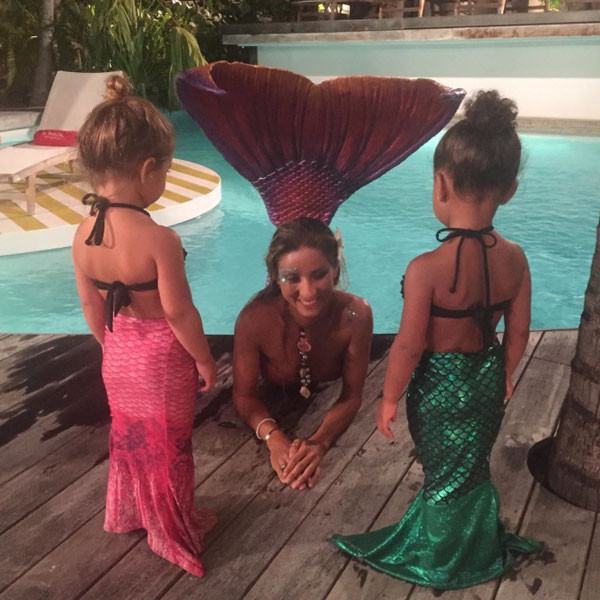 Kim Kardashian, Mermaids, Instagram