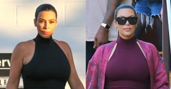 7d4ba09b796 Pregnant Kim Kardashian Is Obsessed With Ronny Kobo Dresses—Get the Scoop  Straight from Her Fave Maternity Designer!