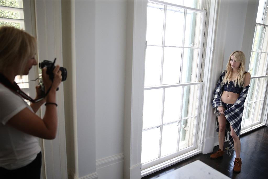 Emma Roberts, Aerie