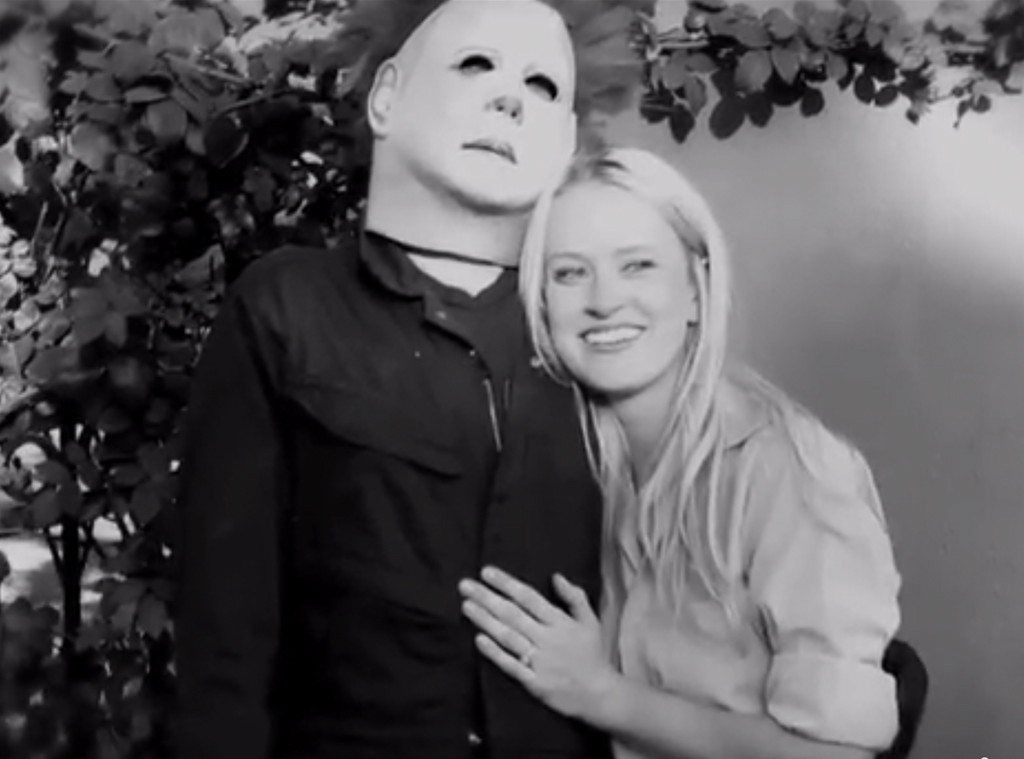 Halloween Proposal, Alec Wells, Katherine Canipe
