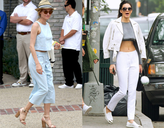 Best Summer Trends, Culottes v. Crop Tops