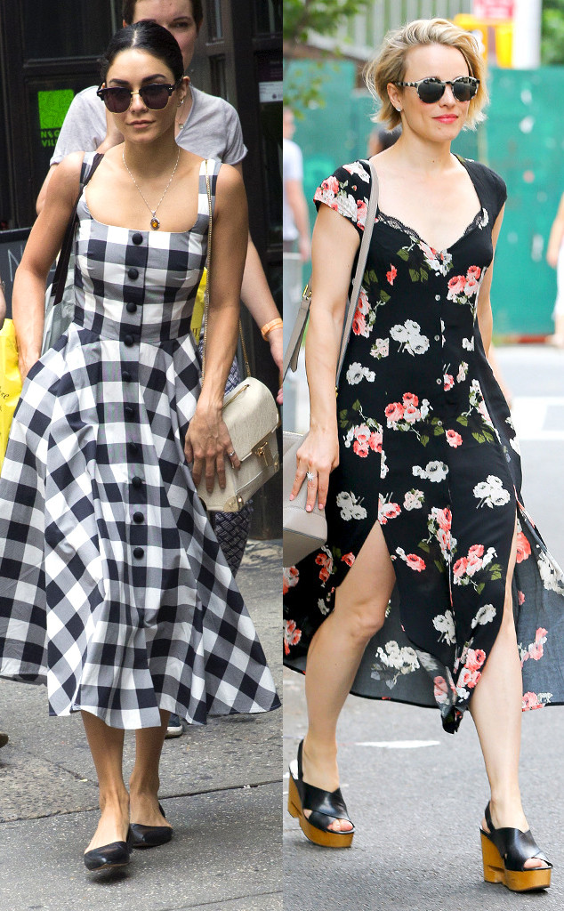 Best of Summer Trends, Gingham v. Dark Floral Prints