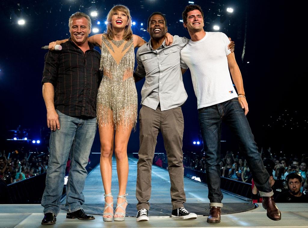 Taylor Swift Concert, Matt LeBlanc, Chris Rock, Sean O'Pry